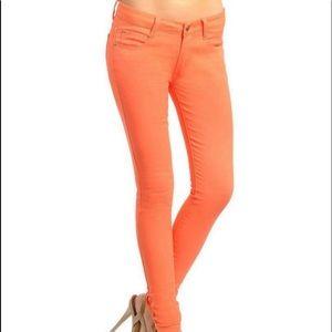 Denim - Orange Jeans